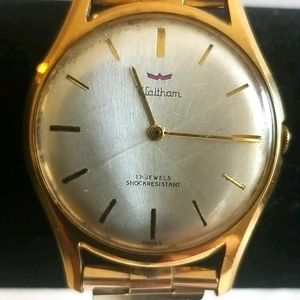 WALTHAM Vintage 17 Jewels Automatic Swiss Watch